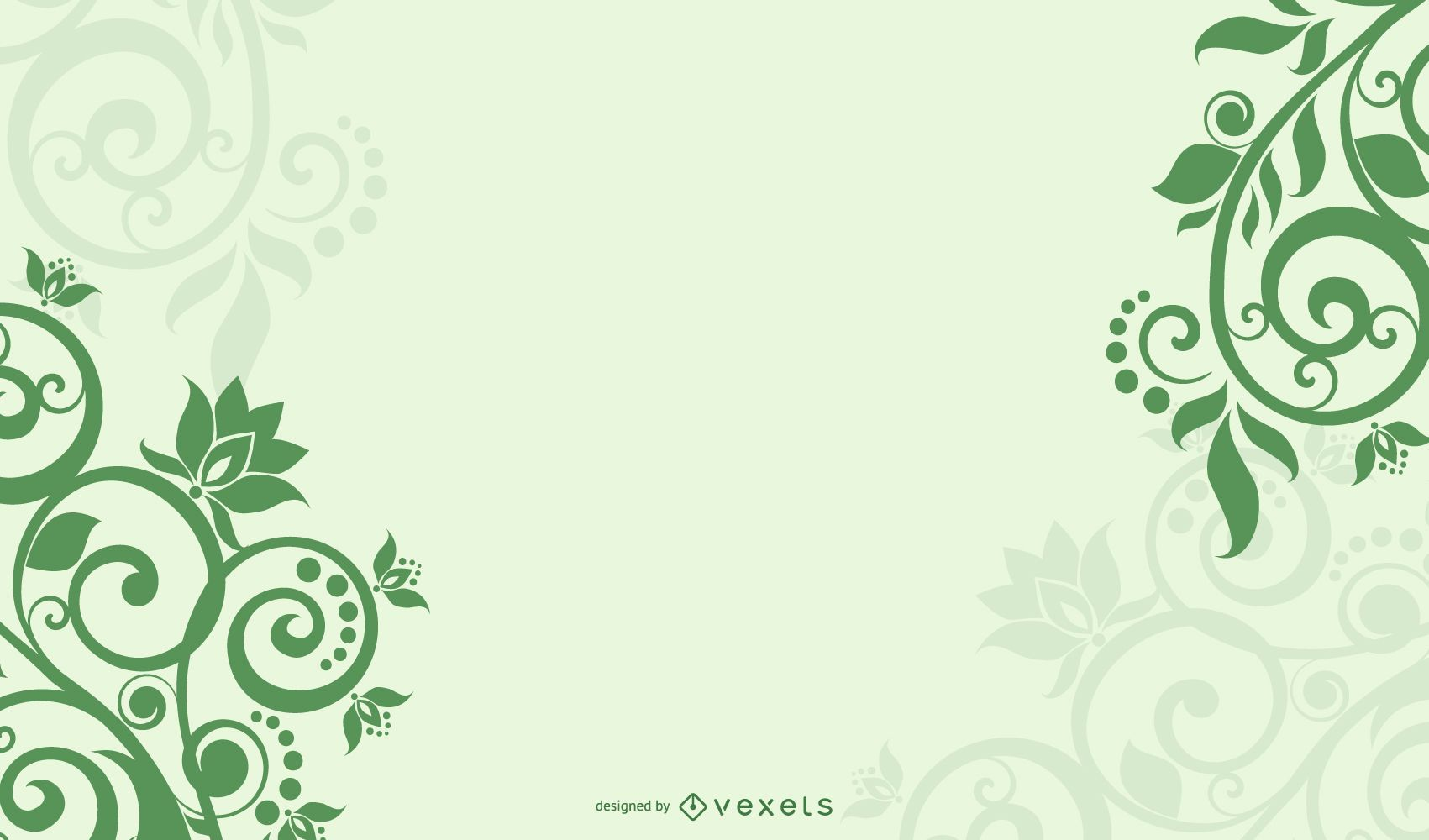 Abstract Floral Background For Design Vector Download