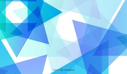 Gráfico vectorial de fondo azul abstracto