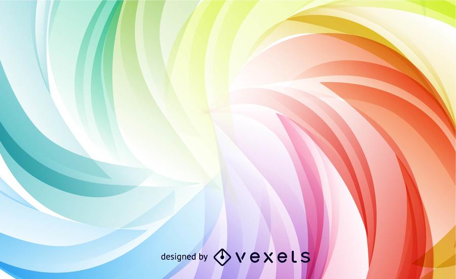 Gráfico de vetor de Design abstrato colorido