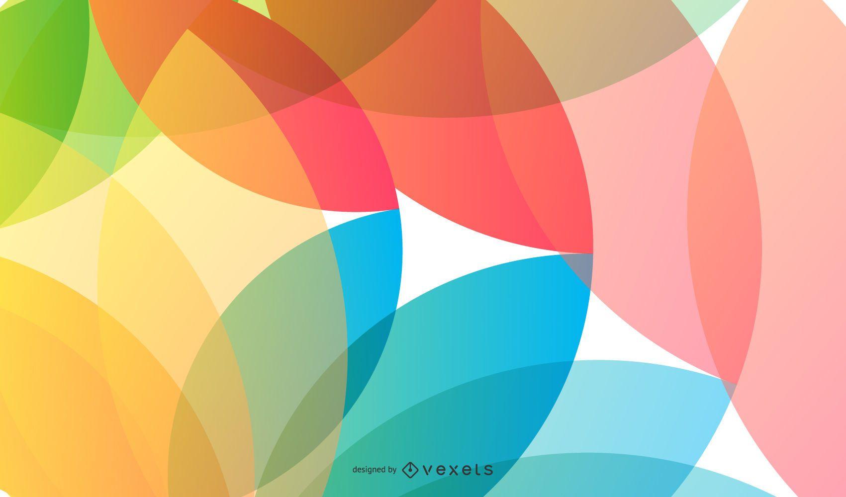 Freier Vektor-abstrakter Hintergrund
