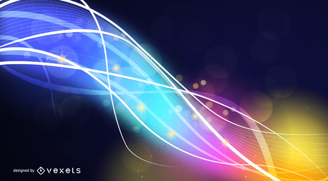 Abstract Art Colorful Vector Background