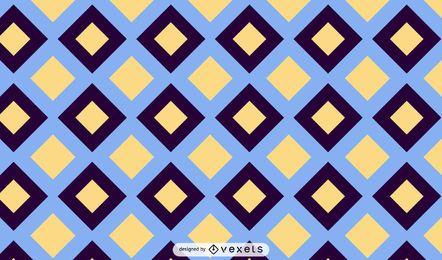 Diseño de patrón cuadrado geométrico abstracto