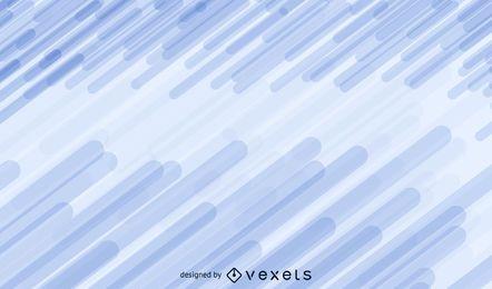 Linhas retas abstratas azuis vetoriais fundo