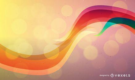 Fundo colorido abstrato vector