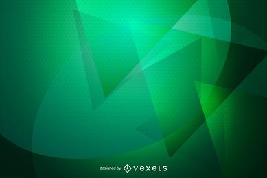 Gráfico de vetor de papel de parede abstrato verde fundo
