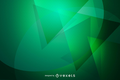 Resumen fondo verde Wallpaper Vector Graphic