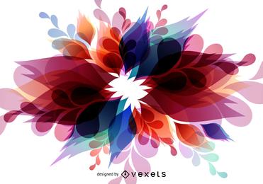Fondo colorido abstracto del vector
