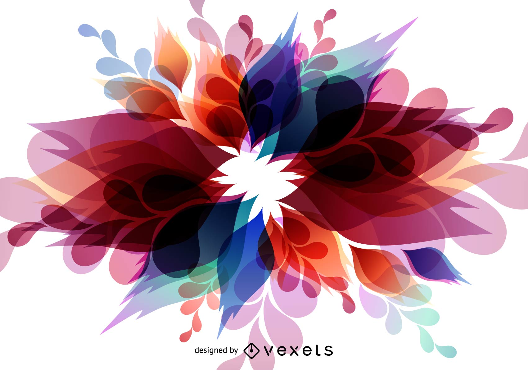 Abstract Colorful Vector Background - Vector download