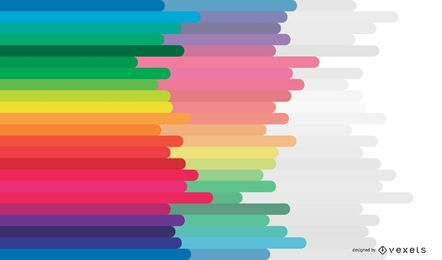 Free Abstract Colorful Rainbow Vector Background