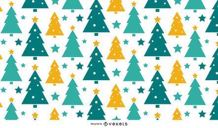 Christmas Tree Pattern Design
