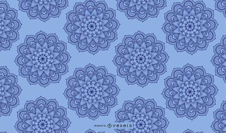 Light-blue arabesque background