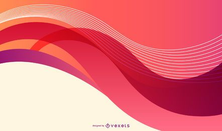 Colorful Swoosh Background