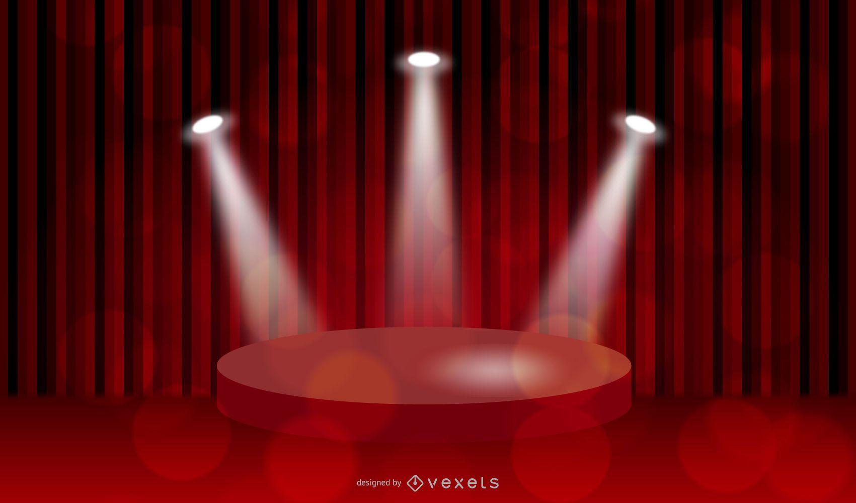 Background Lighting Vector