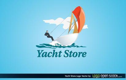 Logotipo da loja de iates