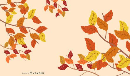 Leaves Background 4