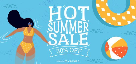 Hot Summer Sale Design