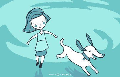 Diseño de ilustración de libro de niño