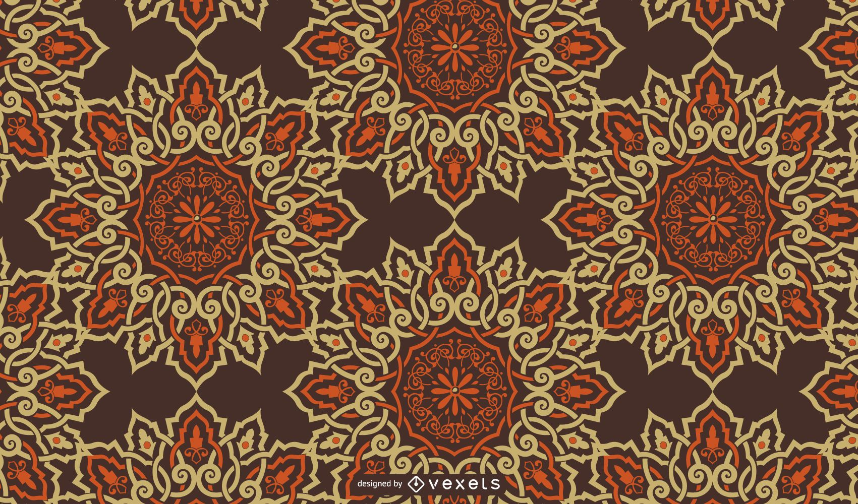 Ornamental Flower Background Design