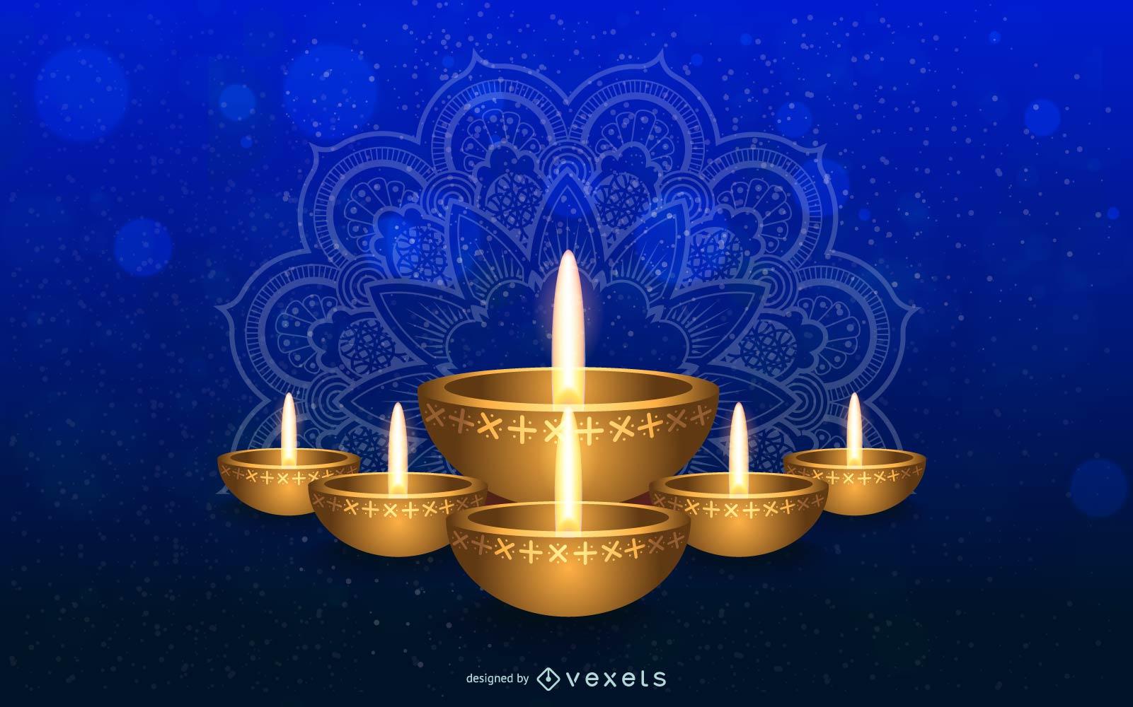 Fondo de Diwali 1