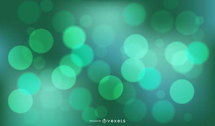 Green Bokeh Background Design