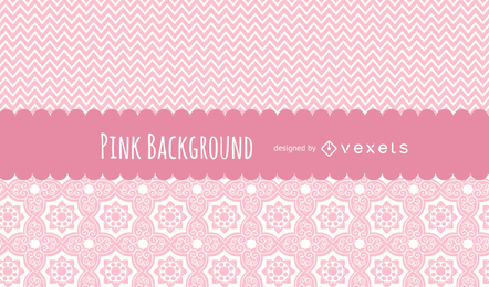 Cute pink patterns background