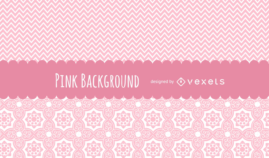 Lindo fondo rosa patrones