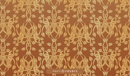 European Fine arabesque pattern