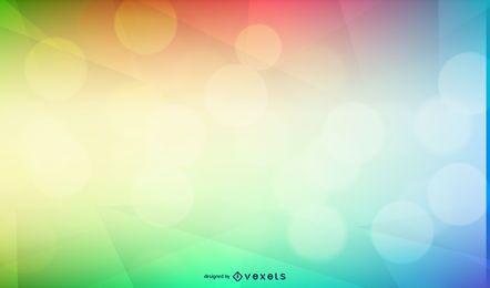 Multicolor Gradient Bokeh Background