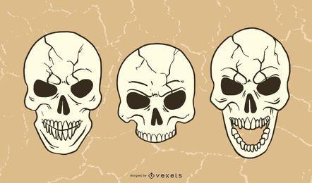 Paquete de cráneo malvado
