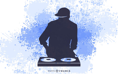 DJ-Musik-Spieler