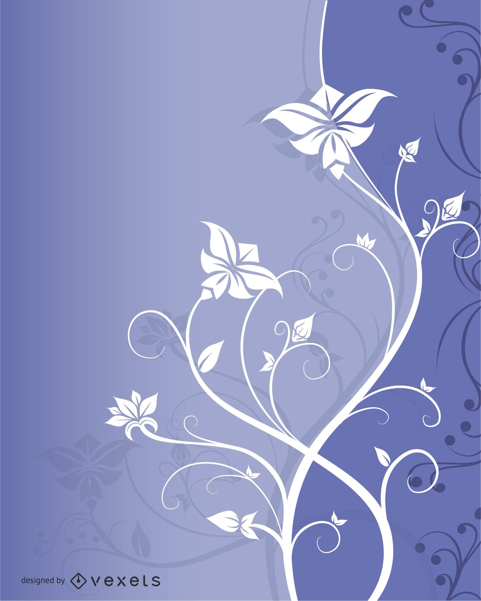 Hermosa flor de moda