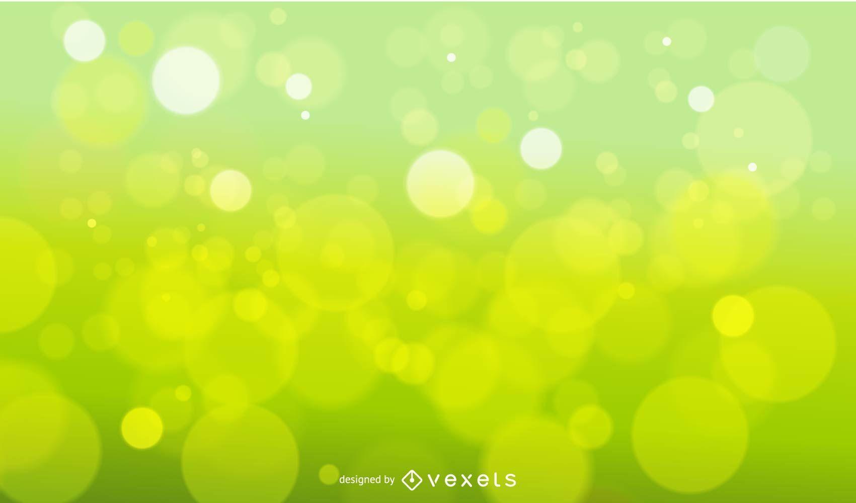 Fondo verde desenfoque natural