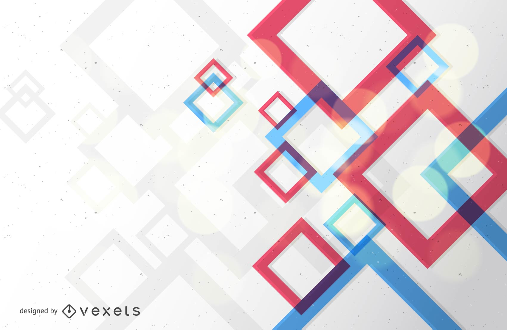 Abstract Square Backdrop Design Vector Download