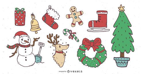 10 Lovely Christmas Elements