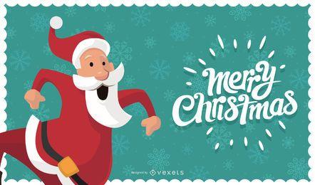 Fundo de cartão de Natal