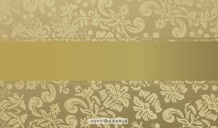 Elegante fundo dourado