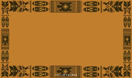African Culture Background Design