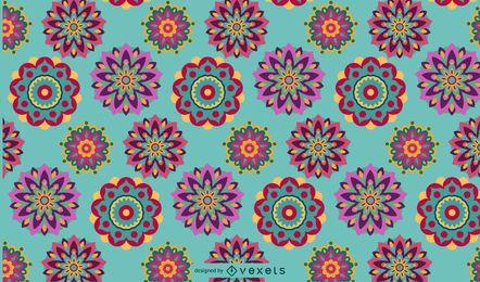Stammes-Boho-Muster-Design