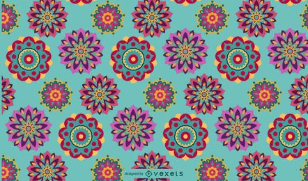 Tribal boho pattern design