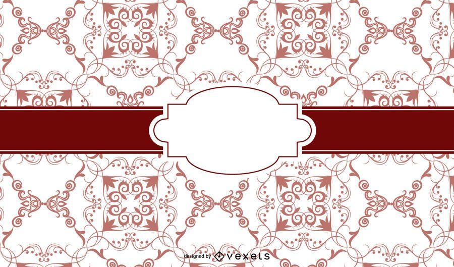Diseño clásico vintage europeo.