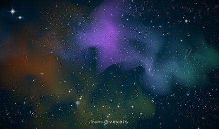 Galáxia do arco-íris grátis