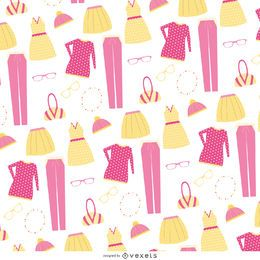 Patrón de artículos de ropa