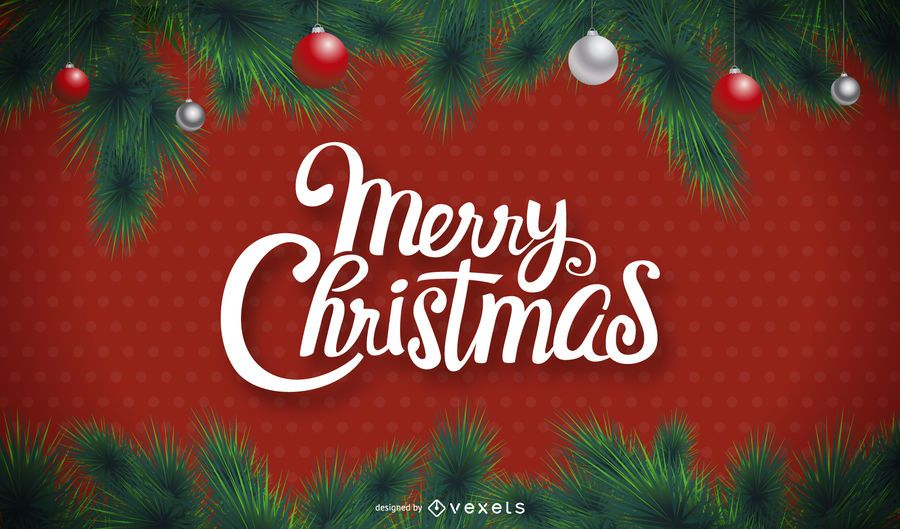 Merry Christmas Images Download.Merry Christmas Background With Polka Dots Vector Download
