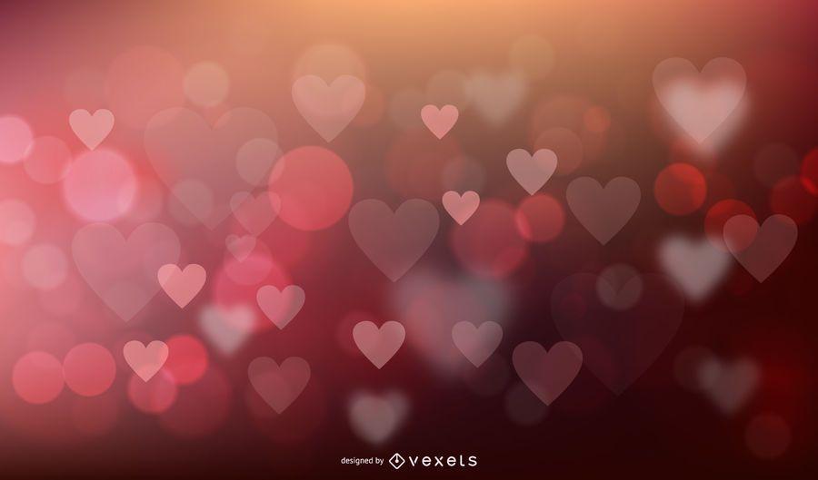 Amor de fundo vector