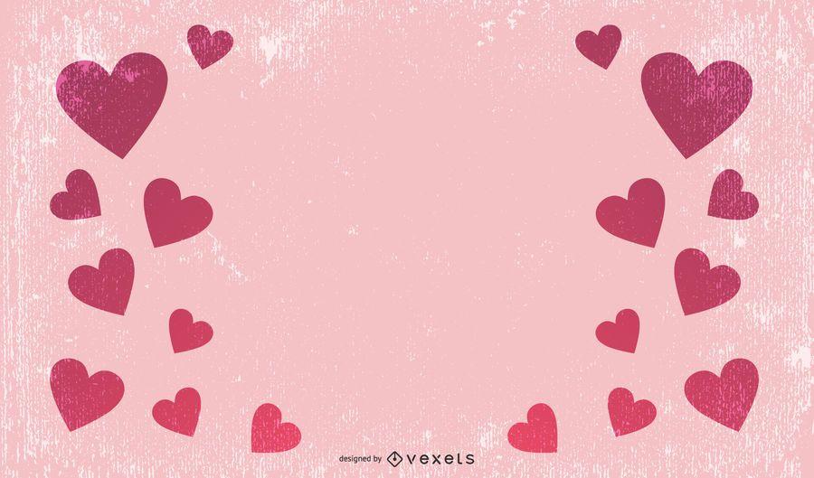 Fondo de corazones gratis