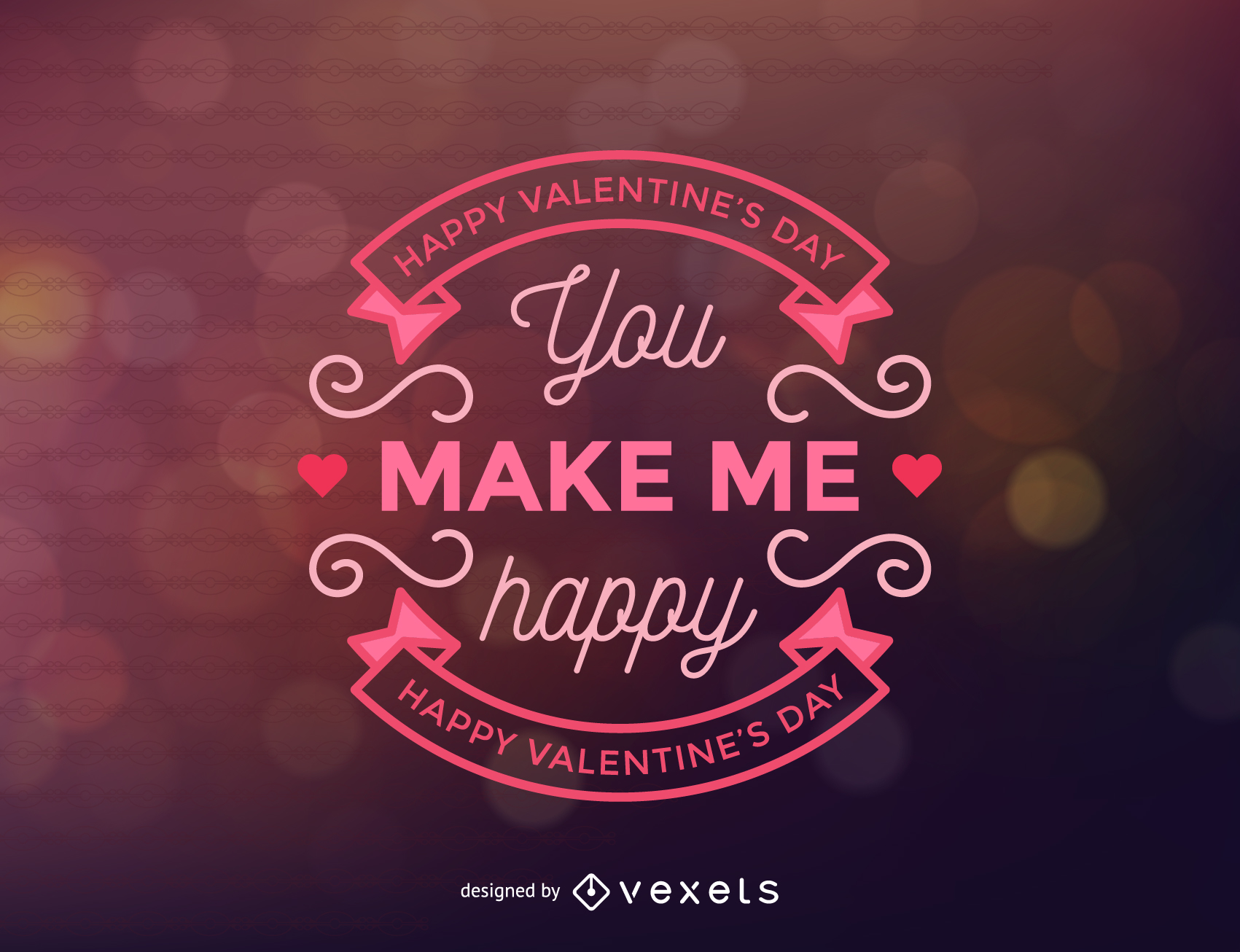 Fondo de etiquetas de San Valentín