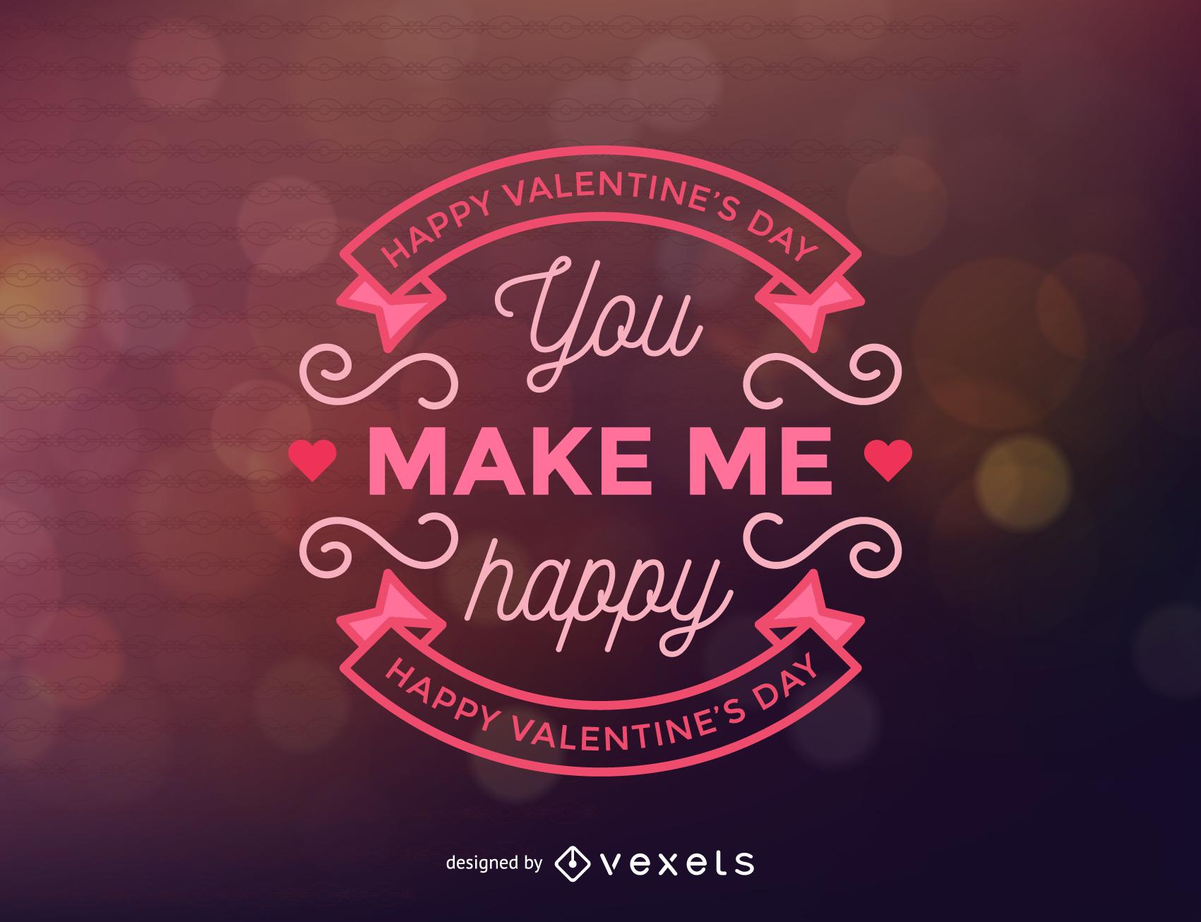 Valentine Labels Background