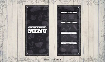 Menu Background Pattern
