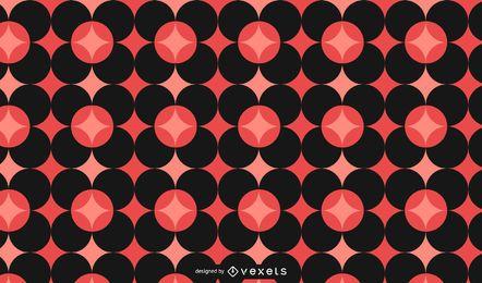Fondo de mosaico geométrico abstracto
