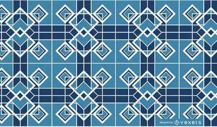 Mosaic Background Pattern Design